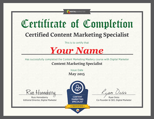 Content Marketing Institute Certification - ST Hint - Latest Tech ...