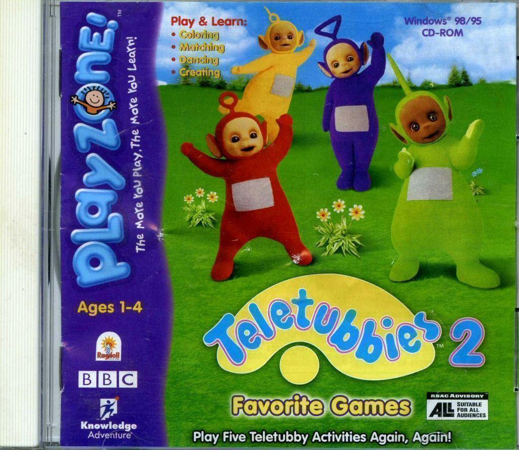 Favourites teletubbies favourite games: amazon. Co. Uk: software.